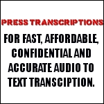 Press Transcriptions